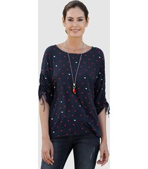 blouse laura kent marine::rood::roest