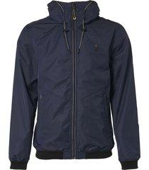 jacket, short fit, hooded, mesh lin night