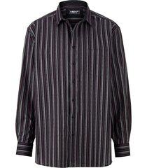 overhemd men plus zwart::berry