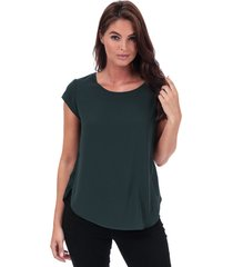 only womens vic short sleeve top size 14 in green