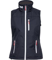 w crew vest vests padded vests blauw helly hansen