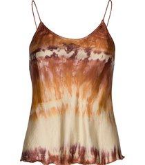lise blouse mouwloos multi/patroon rabens sal r
