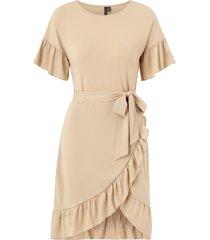 klänning vmpoppy s/s tie short dress
