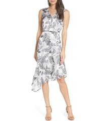 women's sam edelman floral asymmetrical dress
