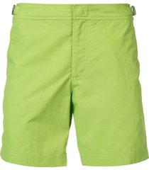 orlebar brown classic swim shorts - green