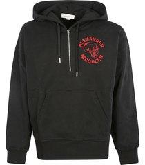alexander mcqueen chest logo hoodie