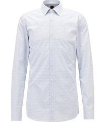 boss men's slim fit tailored cotton shirt