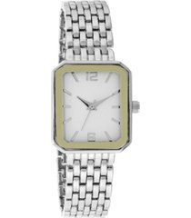 charter club women's silver-tone bracelet watch 25mm, created for macy's