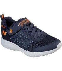 zapatilla dyna - lights azul marino skechers