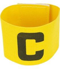 braçadeira de capitão elástica adams - amarelo