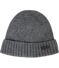 barbour wool beanie hat