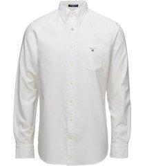 reg oxford bd skjorta casual vit gant