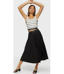 calvin klein sunray pleat midi skirt midikjolar