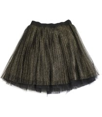 alberta ferretti short net skirt