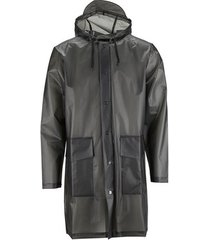 blazer rains hooded coat