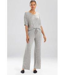 n-trance wide leg pants, women's, grey, size m, n natori