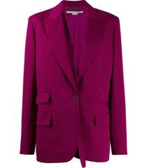 stella mccartney removable strap blazer - pink