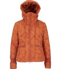 giacca invernale trapuntata fantasia (marrone) - john baner jeanswear