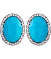 t tahari women's summer chic button clip earring