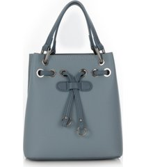 sondra roberts drawstring bucket bag