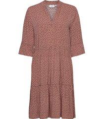 edasz dress knälång klänning rosa saint tropez
