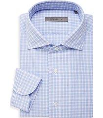 regular-fit plaid dress shirt