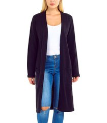 cardigan brave soul negro - calce regular
