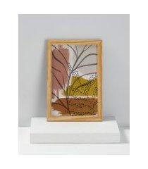 amaro feminino quadro artsy 22 cm x 32 cm, madeira