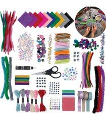 fao schwarz kids diy craft set with chipboard case
