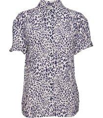moanna blouses short-sleeved blauw baum und pferdgarten