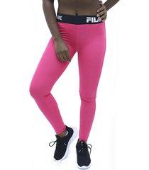 lycra rosado fila pantalon