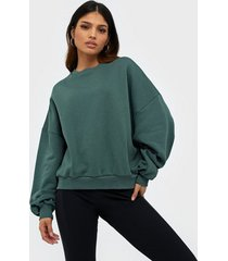 nly trend perfect chunky sweater sweatshirts grön