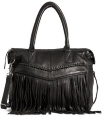 day & mood esther leather satchel