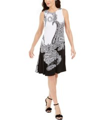 pappagallo the gwen paisley shift dress