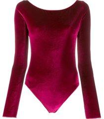 oséree textured effect bodysuit