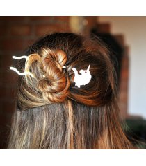 spinka do włosów jednorożec