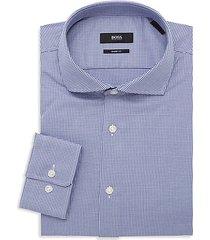 mark dotted dress shirt