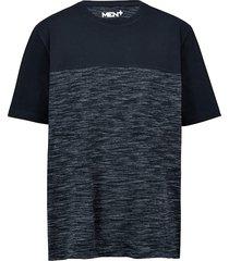 t-shirt men plus marinblå