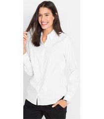 stretch blouse, lange mouw