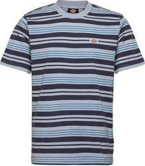 wheaton t-shirts short-sleeved blå dickies