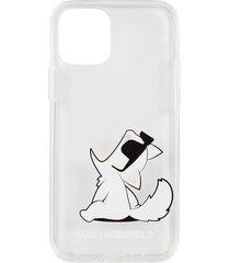 karl lagerfeld paris graphic iphone 12 case - choupette