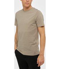 jack & jones jjeorganic basic tee ss o-neck noos t-shirts & linnen beige