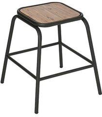 stołek taboret metalowy still