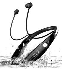audifonos bluetooth neckband con micrófono y alta fidelidad - negro