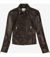 biker jacket black 38