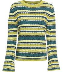 maglione con maniche a campana (verde) - rainbow