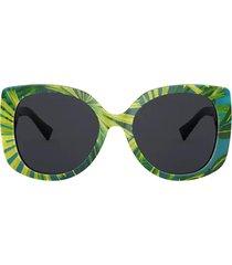 versace versace ve4387 print palms sunglasses