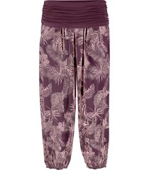 pantaloni cropped loose fit (viola) - bpc bonprix collection
