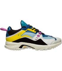 scarpe sneakers uomo in pelle cross