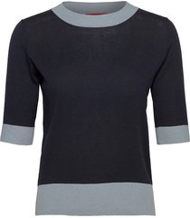 cosmico t-shirts & tops knitted t-shirts/tops blå max&co.